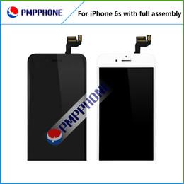 A +++ qualité pour iphone 6s LCD écran tactile avec Frame et Front Camera et Home Button Full Assembly Remplacement livraison gratuite