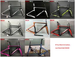 Le plus récent MCipollini NK1K T1000 cadre de 1K ou 3k Full Carbon Road Bike Frame, fourchette, casque, tige de selle Taille: XXS, XS, S, M, L, jeu de cadres de vélo