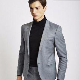 Discount Grey Tuxedo Suit Casual | 2017 Grey Tuxedo Suit Casual on