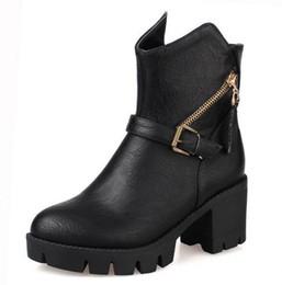 Beige Chunky Heel Platform Boots Online | Beige Chunky Heel ...