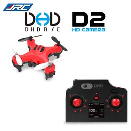 Meilleur vendeur DHD D2 Mini drone avec caméra 2MP 2.4GHz 4 canaux 6 axes Gyro Quadcopter 3D renversement RTF Dron VS JJRC H20 H8 CX-10