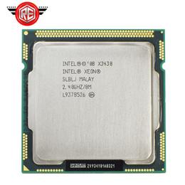 Intel Xeon X3430 Quad Core 2,4 ГГц LGA1156 8M Кэш 95 Вт Настольный процессор