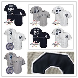 mens new york yankees aaron judge gary sanchez jeter jersey majestic gray 2017