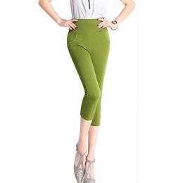 High Waisted Capris Plus Size Suppliers | Best High Waisted Capris ...