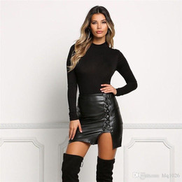 Discount Womens Black Leather Skirts | 2017 Womens Black Leather ...
