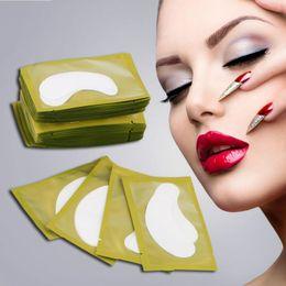 Atacado Nova Papel Correções Eyelash Under Eye Pads Lash Eyelash Paper Dicas Hot Selling Frete Grátis