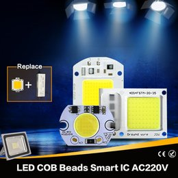 50W LED 30W 20W 10W 5W 220V Lámpara llevada alta del lumen del IC del IC elegante para el proyector del reflector de DIY LED