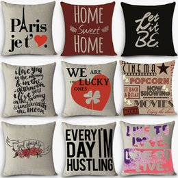 discount decorative pillows words wholesale high quality cheap pillows love words print home decorative cushion - Decorative Pillows Cheap