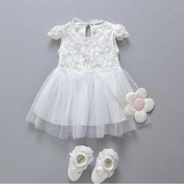 Discount Newborn Baby Girl Party Dresses | 2017 Newborn Baby Girl ...