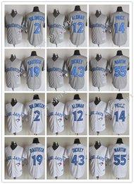 online shopping Cheap Mens jersey Toronto Blue Jays Blue Grey White MLB Baseball Jerseys Troy Tulowitzki Jose Bautista Russell Martin For sale