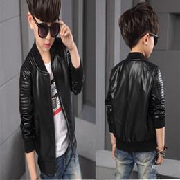 Boys Faux Leather Jacket Black Online | Boys Faux Leather Jacket ...