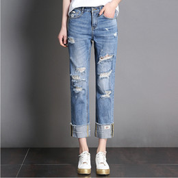 Discount Womens Torn Jeans | 2017 Womens Torn Jeans on Sale at ...