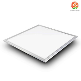 Discount panel mounts Dimmable 40W 48W led panel 600mm x 600mm Silver White Framed led panel 2ft X 2ft Suspended led lights AC 110-240V UL FCC