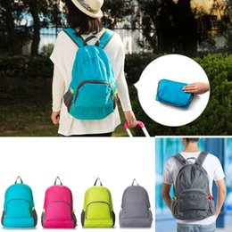 online shopping Colors Backpacks Unisex Outdoor Sports Waterproof Foldable Backpack Hiking Bag Camping Rucksack