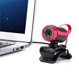 USB 2.0 Cámara HD de 50 megapíxeles Cámara 360 grados con MIC Clip para PC de escritorio Skype Ordenador PC portátil LLFA