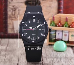discount big rubber watches for men 2017 rubber watches big face 2017 big rubber watches for men top brand black rubber strap watch big band day date