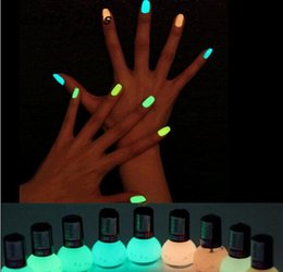 wholesale hot new luminous nail polish 12 candy color fluorescent night glow in dark women nail gel polish - Buy Candy By Color