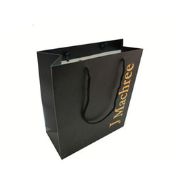 Discount Black Paper Shopping Bags Wholesale | 2017 Black Paper ...