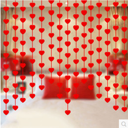 Discount Handmade House Decorations 20bags Lot Diy Wedding House Decoration Creative Handmade Non Woven Pajamas Hanging