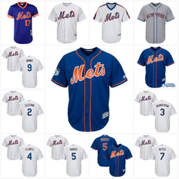 2017 brown baseball jerseys 2017 New York Mets Jersey 2 Gavin Cecchini 3 Curtis Granderson 4 Wilmer Flores 5 David Wright 7 Jose Rey Cool Base Custom Baseball Jerseys cheap brown baseball jerseys