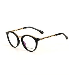 discount black metal letters women round glasses frame metal eyewear ee black round glasses frames 2017