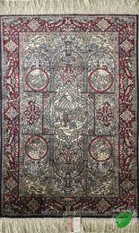 YISI handmade silk rug carpet tapestry Oriental rugs,Italian carpets,European  Persian carpets,Oriental carpets,Turkey carpets 2x3ft-61x91cm