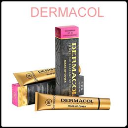 Dermacol Base Maquillage Dermacol Maquillage Housse Extreme Covering Foundation Hypoallergénique 30g Dermacol Tatoo Brandd Maquillage de la peau Hot Sale