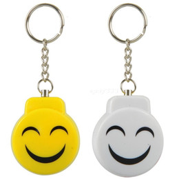 online shopping New Arrival Smile Face Alarm Personal Electronic Panic Alarm Anti Rape Anti Attack Alarm Sensor Security Siren Keychain dB