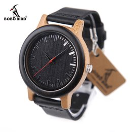 engraved watches for men online engraved watches for men for bobo bird m13 wooden watches top brand luxury clocks leather band for men can engrave your logo