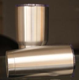 2017 12 oz 20 oz 30 oz copo de isolamento de aço inoxidável bicamada 30OZ copos carros caneca de cerveja DHL livre