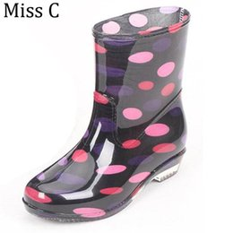 High Polka Dot Rain Boots Online | High Polka Dot Rain Boots for Sale