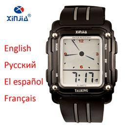 discount talking watches for blind 2017 talking watches for discount talking watches for blind whole 2017 new talking watch sport men waterproof alarm big