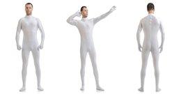 Wholesale Venta al por mayor Mandy personalizado segunda piel apretada trajes Lycra Zentai traje no Hood Negro Mock Neck Spandex Unitard Mens Cosplay cuerpo completo Bodysuits