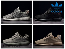 PU + RB Adidas Yeezy Boost 350 Pirata Nero Turtle Colomba Moonrock Oxford Tan Mens Scarpe da corsa Donna Kanye West Yeezy 350 Yeezys Con Box