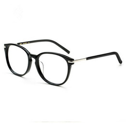 2017 women models large frame glasses star models retro myopia glasses frame female models large frame
