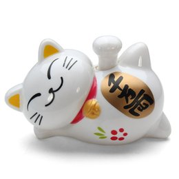 wholesale new solar power waving claw fortune cat furnishing article toys fortune cat home hotel restaurant decor craft lovely solar toys - Home Decor Articles
