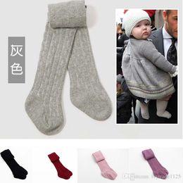 6 cores populares bebê calças bebês algodão leggings primavera Outono calças desgaste crianças calças justas
