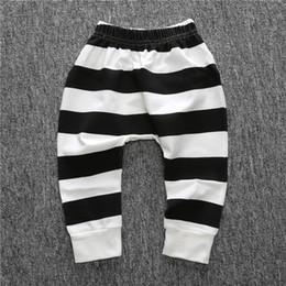 Black White Striped Leggings Baby Online | Black White Striped ...