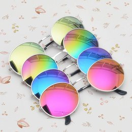 mirrored circle sunglasses  Steampunk Mirrored Glasses Online