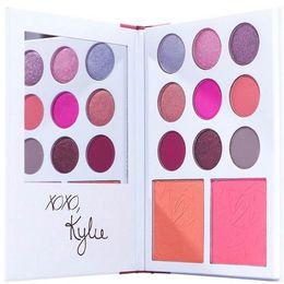 2017 collection de Valentine Kyshadow 11color Palette d'ombre à paupières cadeau de jour de valentine de Kylie Jenner! Expédition gratuite DHL