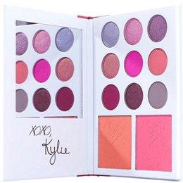 Paleta 2017 do dia dos namorados de Kylie Jenner da coleção do Valentim da coleção do Valentim de Kyshadow 11color Presente do dia dos namorados de Kylie Jenner! Frete grátis DHL