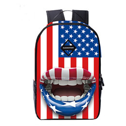 2017 travelling backpacks Fashion Lovers Backpack 3D Print Flag Teenagers Backpacks Unisex School Bag Travelling Bag Laptop Bagpack Mochila Cool Styles cheap travelling backpacks
