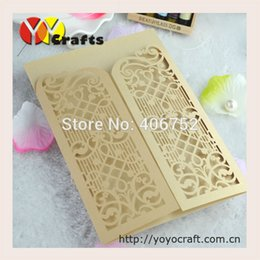 wholesale 2016 hot elegant customize size and color chinese wedding invitation card design