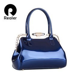 discount designer frames bags wholesale realer brand designer handbags high quality patent leather handbag women