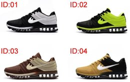 Discount shoes run air max Wholesale Cheap Mens Air Sports Max 2017 Kpu Running shoes,Fashion Athletic Walking Training Sporting Shoes Sneakers size 40-47