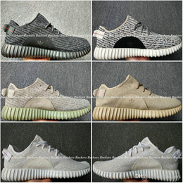 Wholesale Adidas Yeezy Boost Pirate Black Turtle Dove Moonrock Oxford Tan Triple White Men Women Running Shoes Kanye West Yzy Yeezys With Box