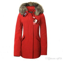 Discount Ladies Red Parka Coat | 2017 Ladies Red Parka Coat on ...