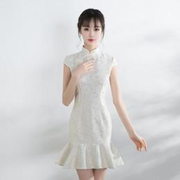 Modern Chinese Wedding Dress Lace Canada | Best Selling Modern ...