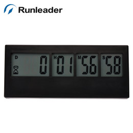 online shopping Large LCD counter timer with Day hour minute second for wide use cooking morning call game lab house work