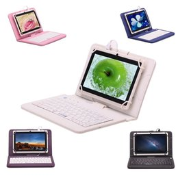 online shopping US STOCK iRULU quot Tablet PC RK3126 Quadcore IPS G G Dual Cameras Android4 Bluetooth Tablets With inch Keyboard Case